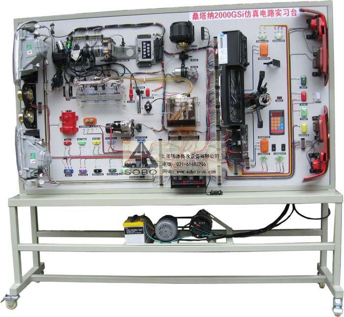 产品中心 汽车电器电路实训台  功能: 1)适用于汽车专业学员实操技能