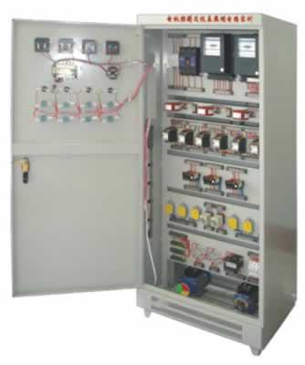 sb-76e电机控制及仪表照明电路实训考核装置(柜式,双面)