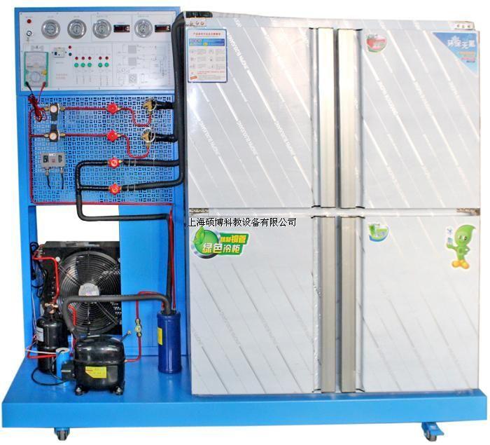 直观性强:装置采用敞开式设计,控制电路及制冷管路系统直接展现出来