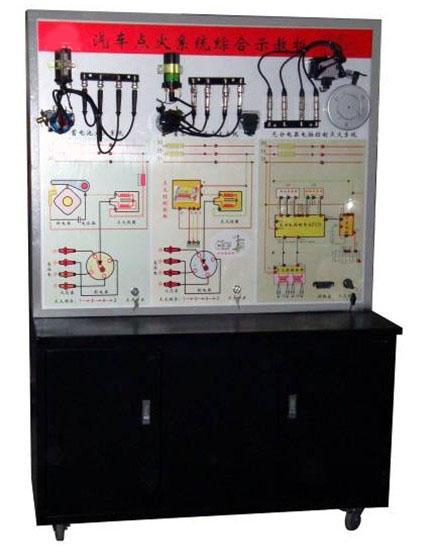 点火放大器,电源,高压线,高压包,火花塞,调速电机,分电器,控制面板,可