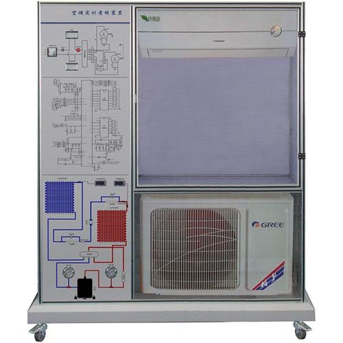 空调整机单元1套:包括热泵型分体空调所必需的一些部件,如蒸发器,冷凝
