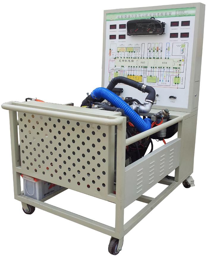 汽车发动机实训台  sbqc-fd-2 教学用电控共轨柴油机运行检测实验台