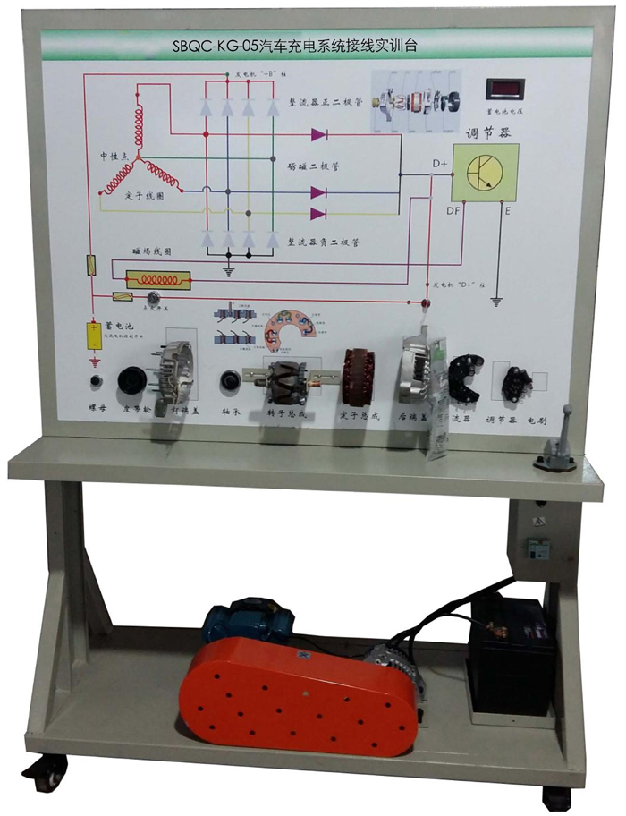 产品中心 汽车电器电路实训台  单位 数量 1 检测控制面板 装有各种