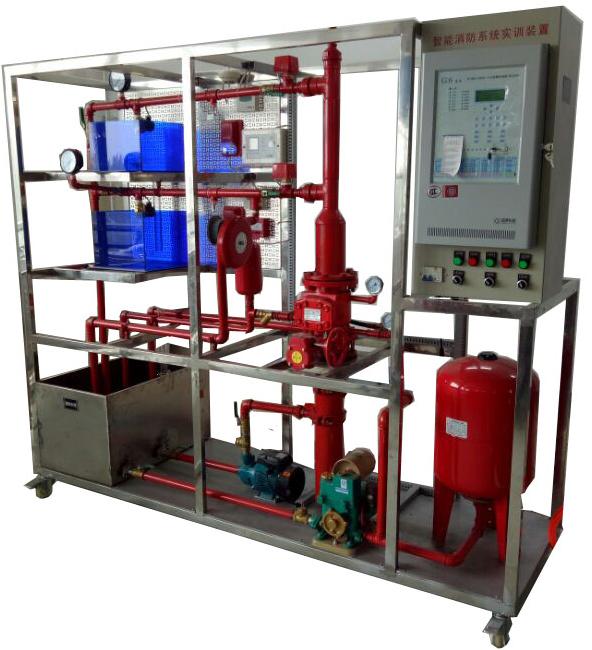 产品中心 建筑楼宇实验室,电梯实训设备  消防联动控制中心及喷淋灭火